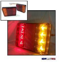 2 x 12V LED FEUX LAMPES ARRIERES CAMION REMORQUE FOURGON CARAVANE CAMPER