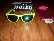 Men's Oakley Frogskins Green Square Sunglasses NEW