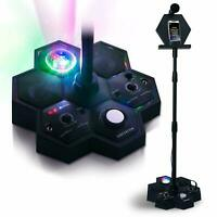 Singsation All-In-One Bluetooth Party Karaoke Machine w/ Microphone  & Stand