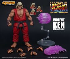 Storm Collectibles Ultra Street Fighter 2 Violent Ken 1/12 Action Figure New