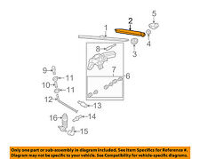 VW VOLKSWAGEN OEM 07-10 Passat Wiper-Rear Window Arm 6Q6955707C