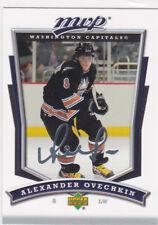 ALEXANDER OVECHKIN Washington Capital UD MVP AUTO SIGS Insert Hockey Card CHAMPS