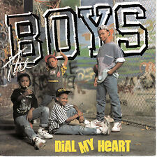 "7"" 45 TOURS FRANCE THE BOYS ""Dial My Heart"" 1988 MOTOWN"