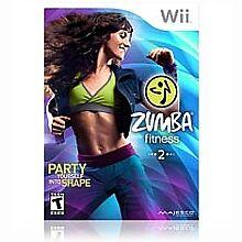 Zumba Fitness 2 Wii Nintendo *New* NIB includes Fitness Belt