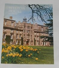 GUIDEBOOK - WILTON HOUSE SALISBURY 24 PAGES 1974 PITKINS PICTORIAL