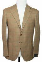 Orazio Luciano Napoli Extrafine Silk & Wool Sportcoat 36 (EU 46) Kiton La Vera