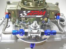 Holley Carb Carburetor Braided Fuel Line Pressure Regulator Kit 4150 6An
