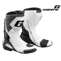 Stiefel Gaerne G-Rw 2406 Weiß Tg. 44 Sport Obermaterial Mikrofaser Motorrad