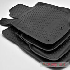 2006-2012 4-teilige Fußmatte 3D TPE für PEUGEOT 207 Bj
