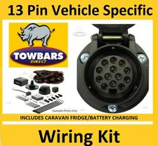 13 Pin Towbar Electrics for Kit Porsche Macan 2014 > Nov 2018 Speific Wiring Kit