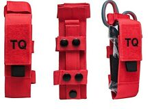 Tourniquet & Trauma Shear Pouch - Red with Black Pull tab