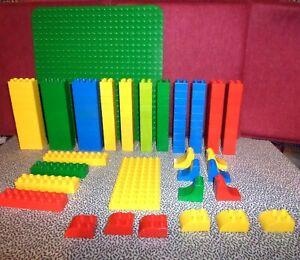 LEGO DUPLO 128 Teile, mit großer und kleiner Grundplatte, Sondersteine