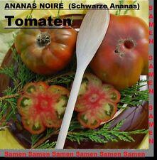 20x ANANAS NOIRE Schwarze Ananas Tomaten Samen Garten Gemüse Tomate Pflanze #256