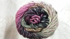 Wisdom Poems Silk #800 Pink Black & Fawn Mix 75% Wool 25% Silk 50g