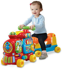 VTech Sit-to-Stand Ultimate Alphabet Train-Learning ABC 123, Ride On Toy, Walker