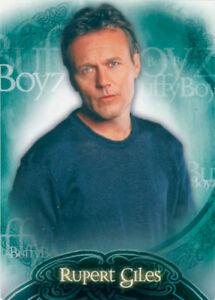 Buffy the Vampire Slayer Season 6 Buffy Boyz Box Loader Card BL1