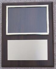 (Team) Photo Award Plaque 8x10 Board with 4x6 Picture Frame FREE engraving