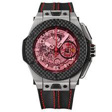 Hublot Mechanical (Automatic) Titanium Strap Wristwatches