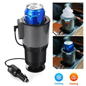 12V Car Intelligent Heating And Cooling Cup Automobiles Hot Cup Drink Holder