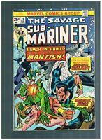Sub-Mariner #70, FN 6.0, 1st Appearance of Piranha