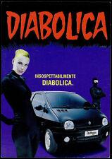 cartolina pubblicitaria PROMOCARD n.3266 RENAULT TWINGO AUTOMOBILE DIABOLIK