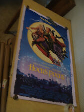 ORIGINAL Rolled Movie poster: HOCUS POCUS double sided