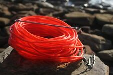 floatline 5m spearfishing 9mm red colour tube+Dyneema float line by ruminex