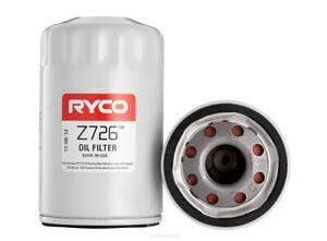 Ryco Oil Filter Z726 fits Jaguar XK 8 4.0 (209kw), 4.0 V8 (267kw)