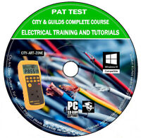 Pat Test Testing City & Guilds Electrical Training Course And Tutorials PC DVD