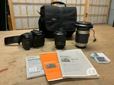 Sony Alpha a100 10.2MP Digital SLR Camera (Kit w/ DT 18-70mm Lens) + 28mm 1.9