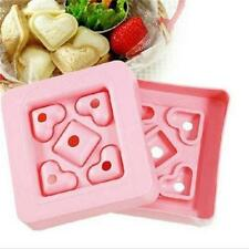 Mini Heart Shape Sandwich Cake Bread Toast Tool Craft Maker Mold Cutter DIY QP
