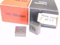 NEW SURPLUS 5PCS. VR/WESSON SNMG 543E  GRADE: VR77  CARBIDE INSERTS