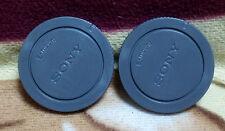 2x camera body cap for Sony E-mount camera NEX3/5/6/7 A6000 A7 A7R A7II A7S