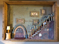 Home Sweak Home Display for Wee Forest Folk - WFF Rare Homemade
