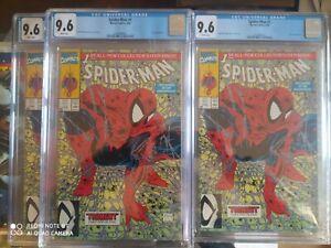 Spider-Man #1 Todd mc farlane 1990  lizard appearance