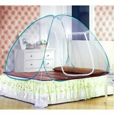 Mosquito Net Full Queen King Size Pop Up Camping Tent Bed Canopy Mongolian Yurt