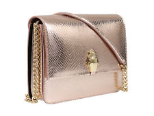 Roberto Cavalli Class Rose Gold Woman Leather Bag