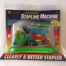 Swingline Multi-Color Clear Plastic Electronic Stapling Machine - Stapler #21103