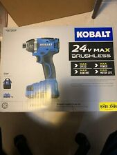 Kobalt 24-Volt Max Variable Speed Brushless Cordless Impact Driver