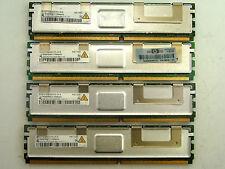 Qimonda 8GB 4x 2 GB DDR2 ECC FB-DIMM 2Rx4 PC2-5300F HYS72T256420HFA-3S-B #Kz-641