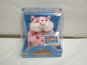 NEW 1ST EDITION GANZ WEBKINS MAZIN' HAMSTERS FEATURE CODE ON LINE PLUSH DOLL