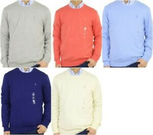 Polo Ralph Lauren Pullover Crew Cotton Cashmere Blend Sweater - Large