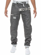 Enzo Stonewashed 32L Jeans for Men