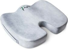 Aylio Coccyx Orthopedic Comfort Foam Seat Cushion for Lower Back, Tailbone and S