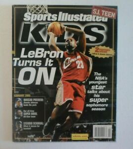 Sports Illustrated Kids February 2005 Lebron James