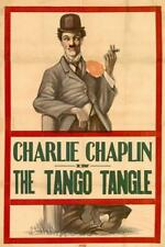 The Tango Tangles Movie POSTER 27 x 40, Charles Chaplin, Roscoe 'Fatty' Arbuckle