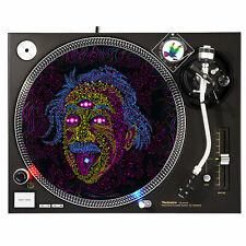 """Psychedelic Einstein Guru Go - Dj Turntable Slipmat 12"""" Lp Vinyl Record Slip Mat"""