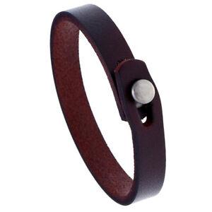 Mens Women Handmade Leather Bracelet Bangle Wristband Surfer Wrap Cuff Jewelry