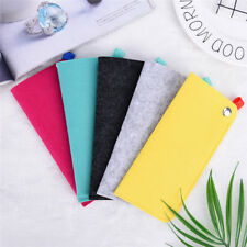 Soft Felt Eyeglasses Sunglasses Reading Glasses Carry Case Pouch Bag W&T