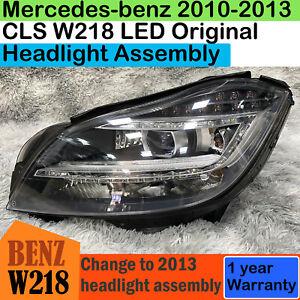 2011-2013 Mercedes-Benz CLS218 CLS550 LED Headlight Assembly Original Headlamp